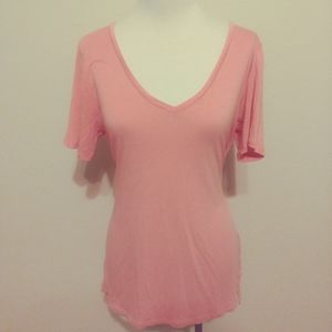 Old navy pink long shirt / dress size small